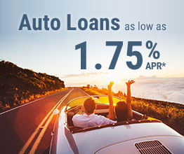 Auto Loans As Low As 1.40%